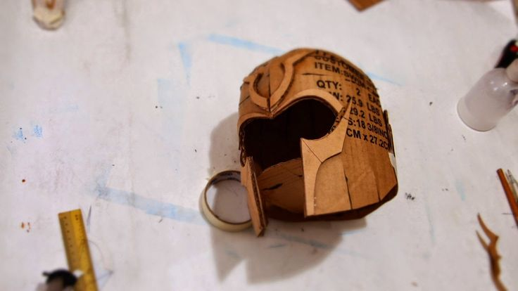 dalilomo dofp magneto helmet diy cardboard template