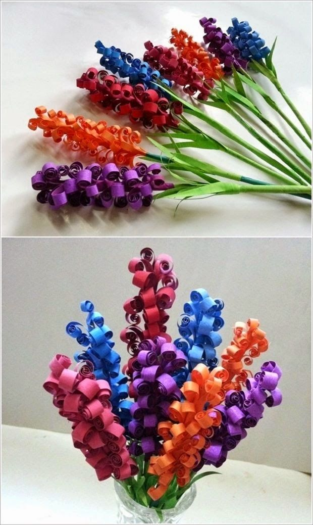163 best origami paper crafts images on pinterest oragami diy swirly paper flowers mightylinksfo