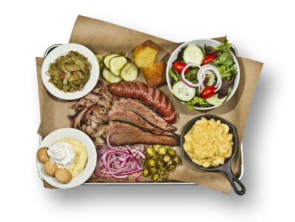 Delicious BBQ The Full Spread