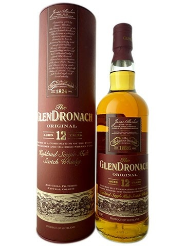 GlenDronach Highland Single Malt Scotch Whisky, 12 Year Old