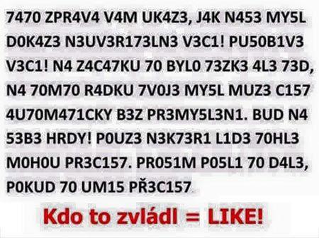 Kdo to přečte? | NUDAVPRACI.cz