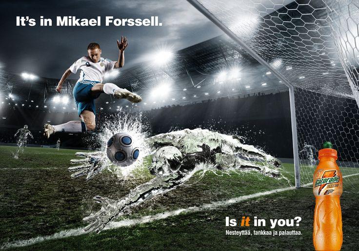 Épinglé par Rebecca van Ommen sur Creative Sport Ads