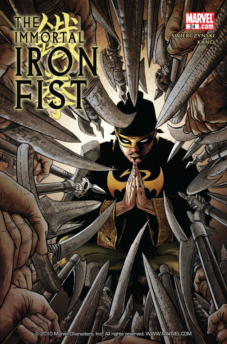Authoritative book of iron fist was specially