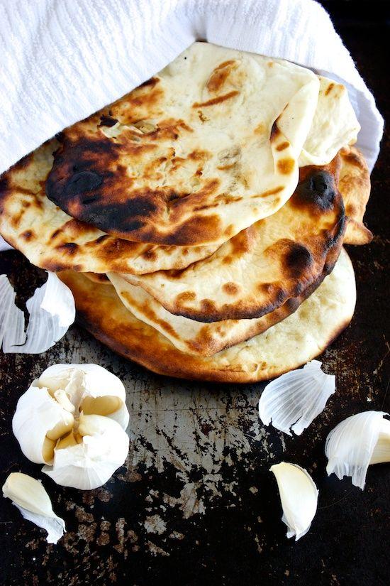 Garlic Naan...absolutely LOVE Naan bread.