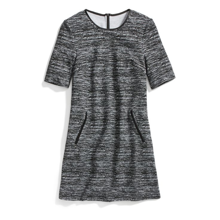 Stitch Fix Winter Essentials: Try a dress in a heavyweight fabric for added warmth and figure-flattering silhouette.
