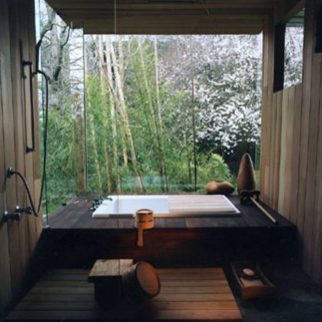 Best Japanese Bath Design Images On Pinterest Hot Springs