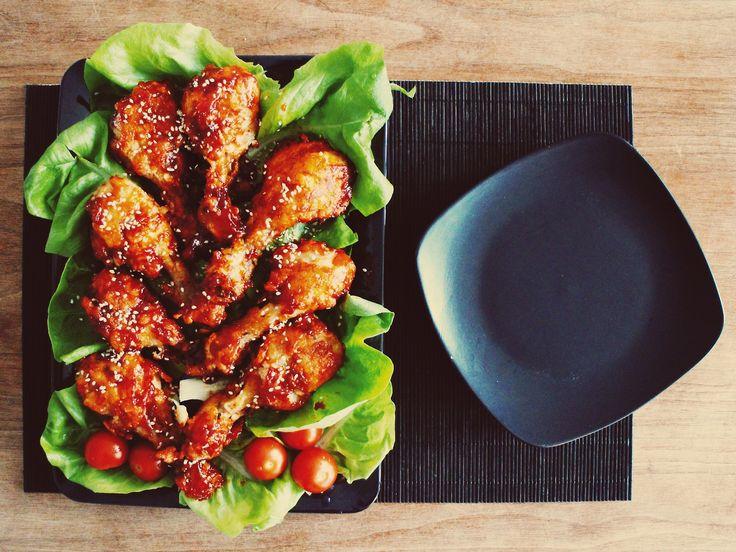 Yangnyeom Chicken Recipe (Korean Fried Chicken)