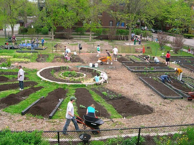 community garden design - Google Search