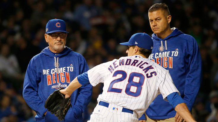 Kyle Hendricks left Saturday's Game 2 after being struck in the forearm by a line drive, but all news was good news after the game for the Cubs.