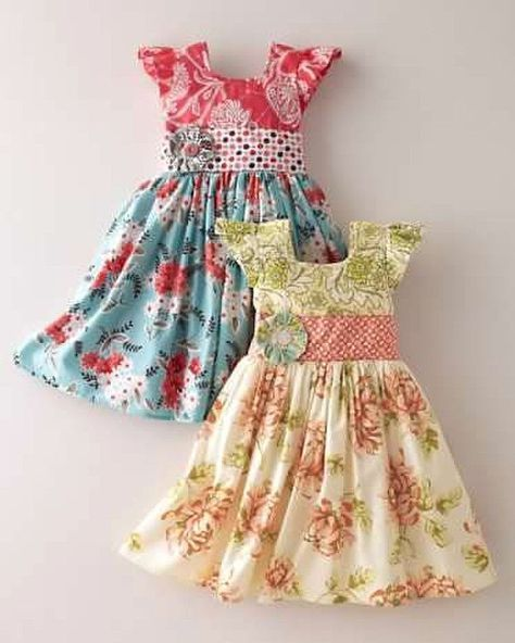 Free girls dress pattern PDF download!