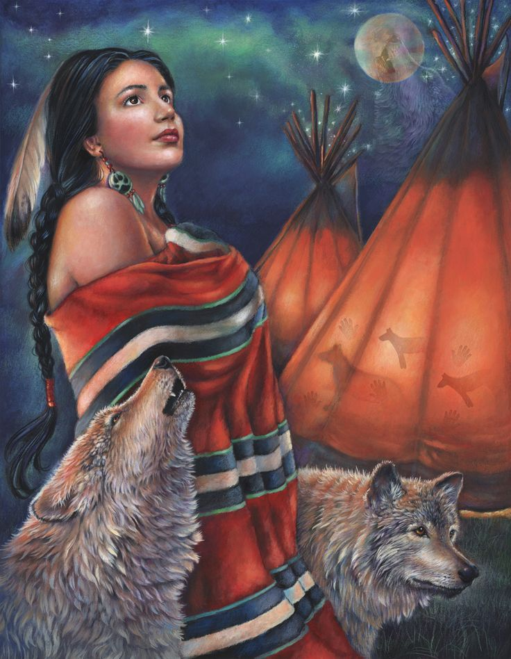 LEGEND OF THE WOLF MAIDEN BY GLORIA WEST
