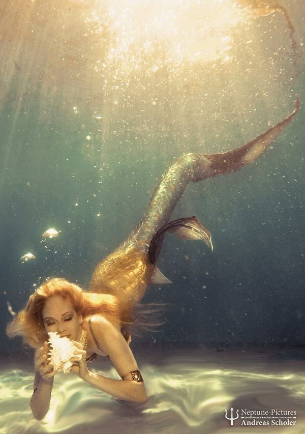 ♒ Mermaids Among Us ♒ art photography paintings of sea sirens & water maidens - discovery