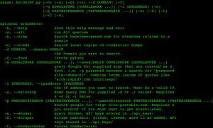 AutOSINT – is an open source intelligence gathering engagements.