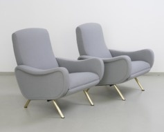 1950s Pair of Marco Zanuso Reclining Lady Chairs for Arflex £6,950