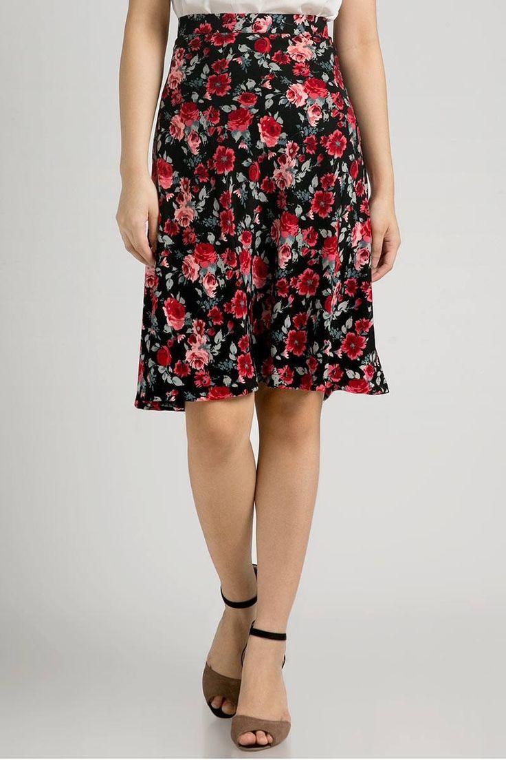 Belle Flower Skirt