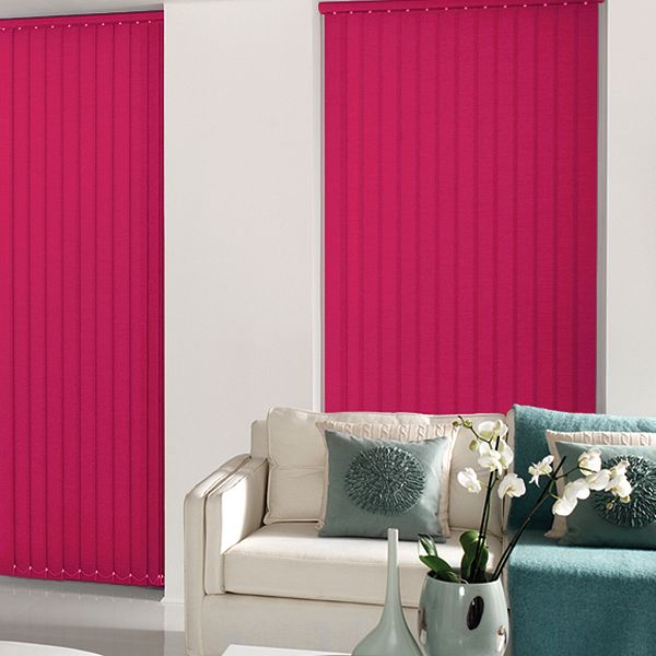 Cheapest Blinds UK | Bright Pink Vertical Blinds