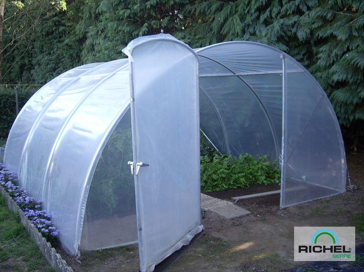 Serre de Jardin RICHEL 20.25m2 avec Porte - Decouvrez toutes nos serre de jardin a petits prix! - LeKingStore