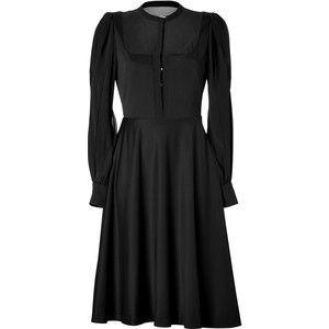 PHILOSOPHY DI ALBERTA FERRETTI Crepe Sheer Top Dress
