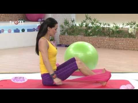 Ebru Şallı İle Pilates Egzersizleri 52.Bölüm - YouTube