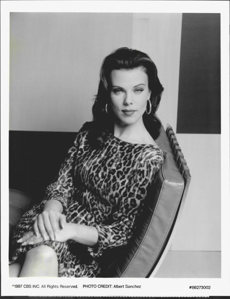 the gorgeous Debi Mazar 1997, leopard dress Born 08/13/1964  Jamaica Queens, New York Actress