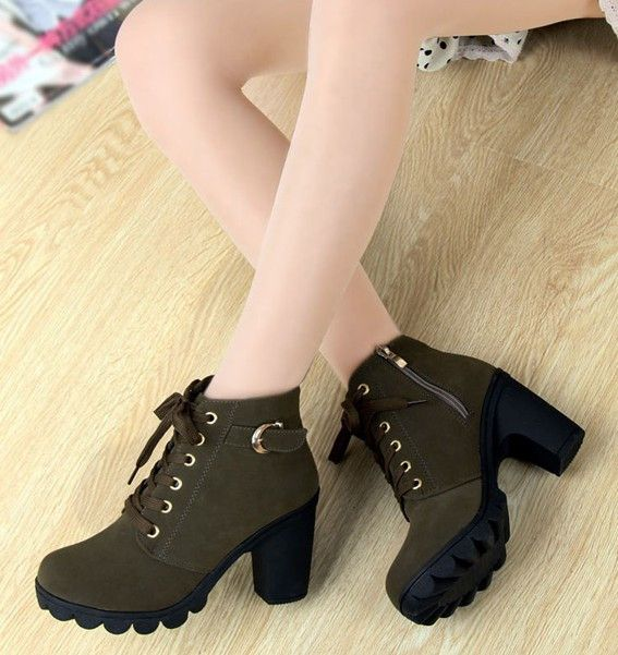 Every Day Something New hot new Women's H... Many Different Catagories  http://crystalsclothingcure.com/products/hot-new-womens-high-heel-boots-pu-sequined-high-hheels-lace-up?utm_campaign=social_autopilot&utm_source=pin&utm_medium=pin
