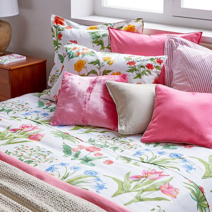 Image 2 of the product Multicoloured Floral Bed Linen