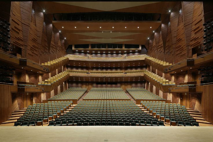Santo Muses, Japan|上田市交流文化芸術センター「サントミューゼ」|Auditorium,Theater, Music, Concert
