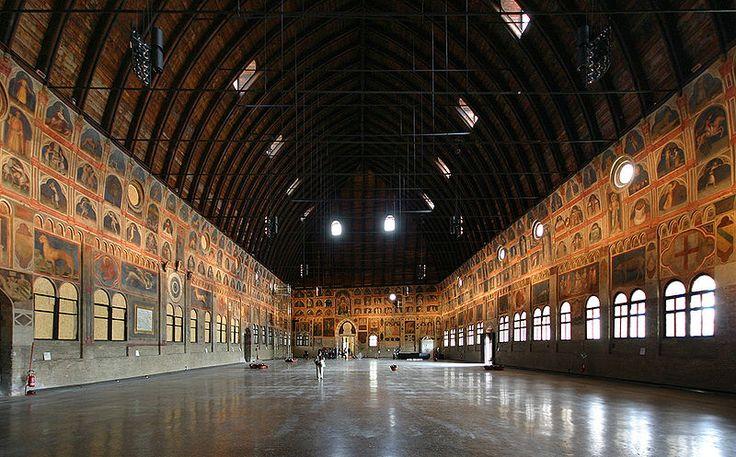 Palazzo della Ragione Padua Saal