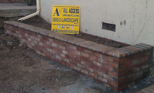 Brick Retaining Wall Contractor Bay Area... All Access ...