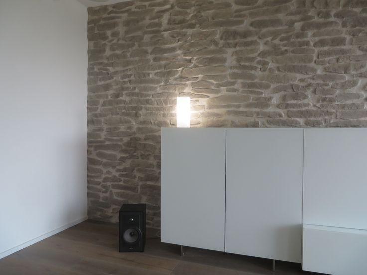 ber ideen zu steinwand wohnzimmer auf pinterest rustikale holzb den steinwand und. Black Bedroom Furniture Sets. Home Design Ideas
