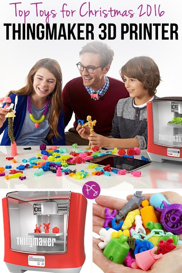 Wow! This 3D printer from Mattel will be one of the Top Toys for Christmas 2016…