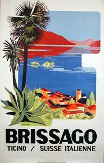 """""""Brissago Ticino"""", Poster"""