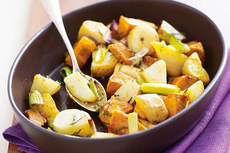 side dish: roast winter vegetables - 6ppts
