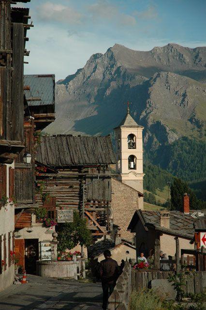 Saint Veran dans le Queyras.