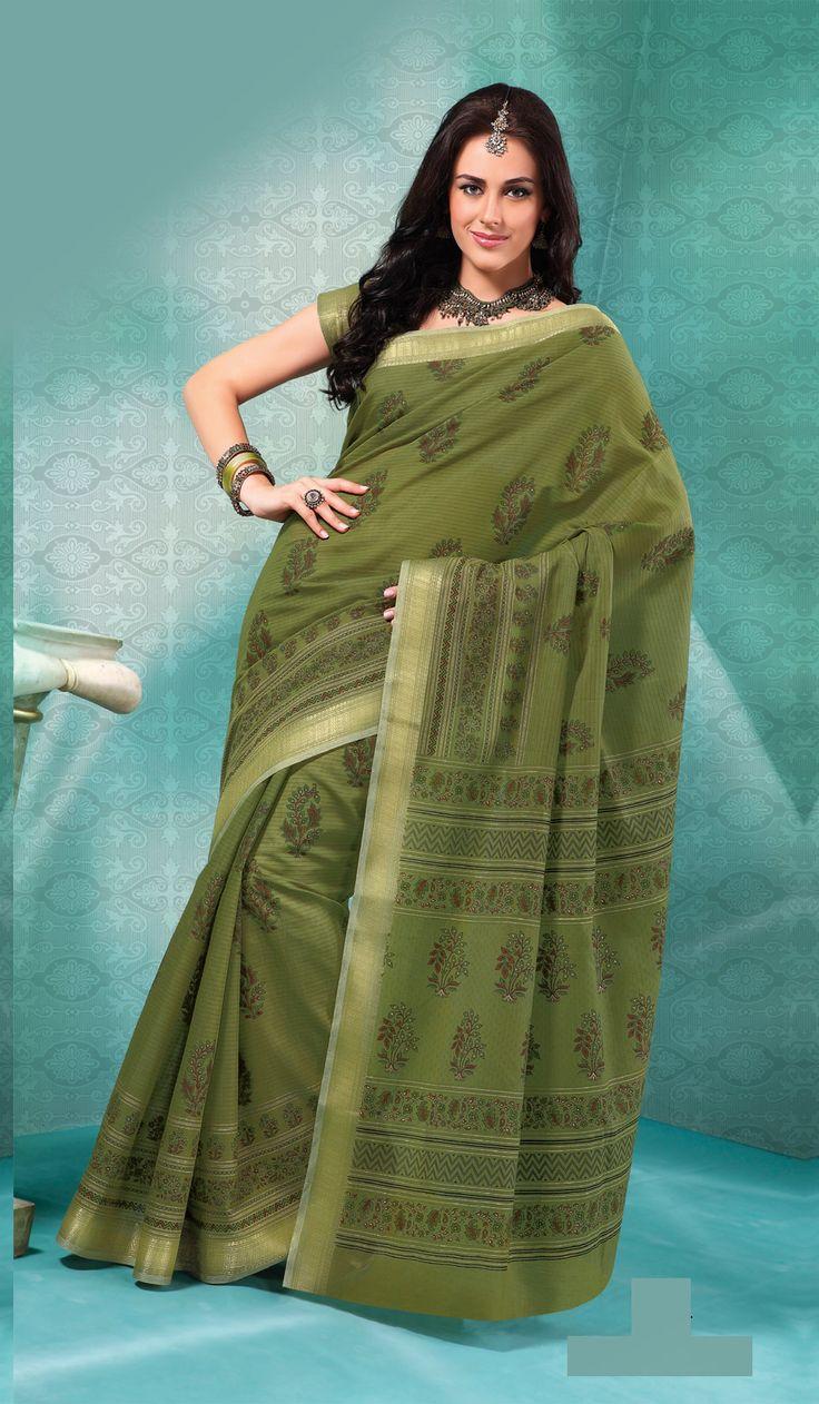 Green #Party Wear #Sari #USA  For More Saree Check this page now :-http://www.ethnicwholesaler.com/sarees-saris