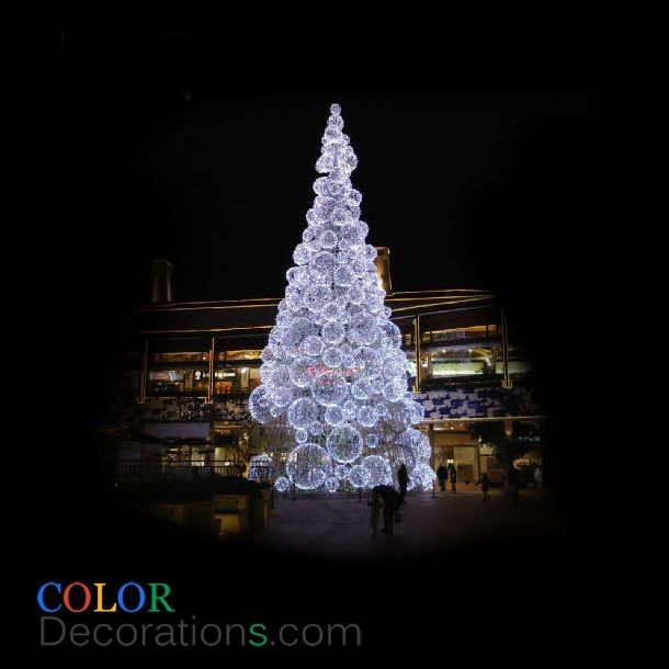 CD TR105 LED Outdoor Christmas Trees Decorations Ball Christmas Trees   LED Christmas  Trees