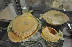 DINNERWARE - Fish Plates  Serving Dish Tureen and Gravy Boat
