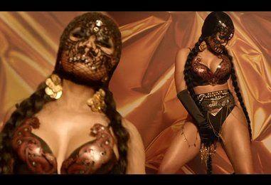 Nicki Minaj in Light My Body Up music video