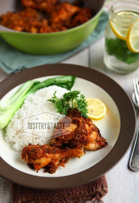 Ayam panggang dengan sambal andaliman. Sedap, mudah dan rasanya super maknyuss.