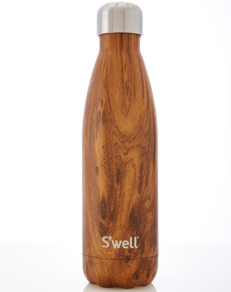 Swell water bottle teakwood 17oz bottle kitchen for Kitchen swell kenting