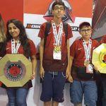 Antalya Robot Takımı Robot Şampiyonası'nda dünya şampiyonu