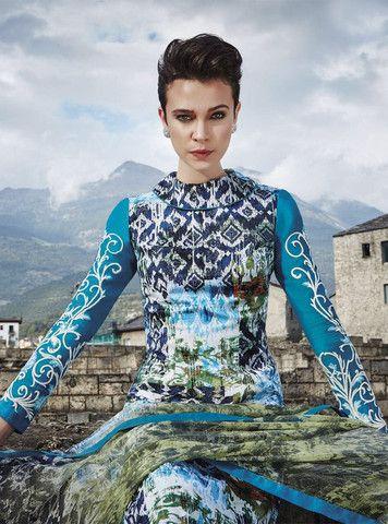 Jinaam 8453 Blue Color Glace Cotton Designer Suit