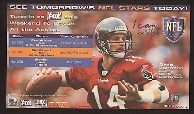 Brad-Johnson-2003-NFL-Europe-Advertisement-Tampa-Bay-Buccaneers-Fox