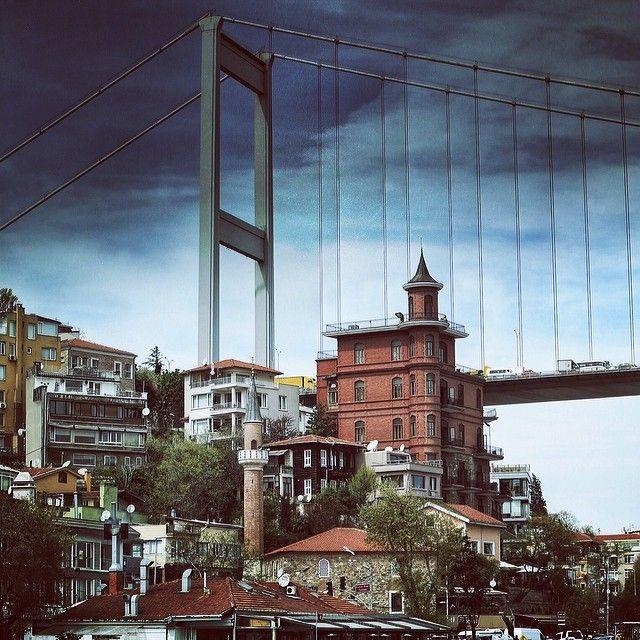"""Fatih Sultan Mehmet Bridge,Istanbul"" photo by Aditya Zulizar Trianata http://instagram.com/aditzt #comeseeturkey"