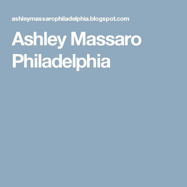 Ashley Massaro Philadelphia