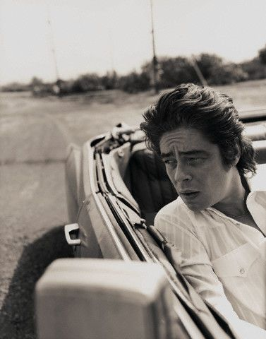 Benicio Del Toro - he used to scare the hell out of me, now I rather enjoy him :)