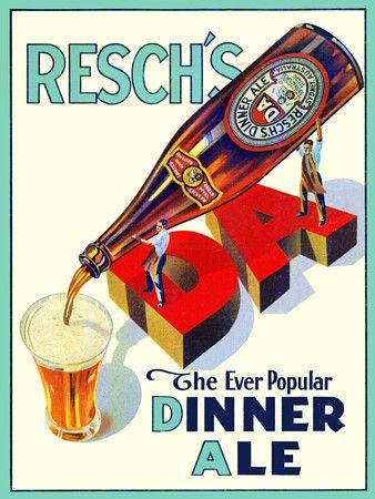 Classic Vintage Australian beer poster  http://www.vintagevenus.com.au/products/vintage_poster_print-d570