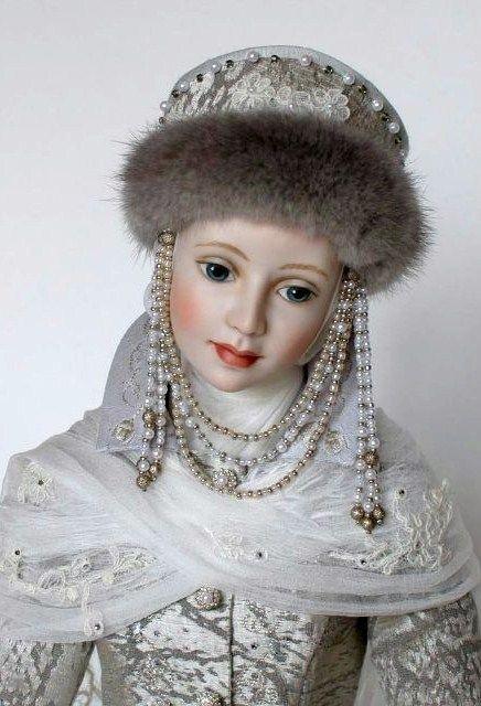 Doll in Russian costume by Nikulshina Svetlana
