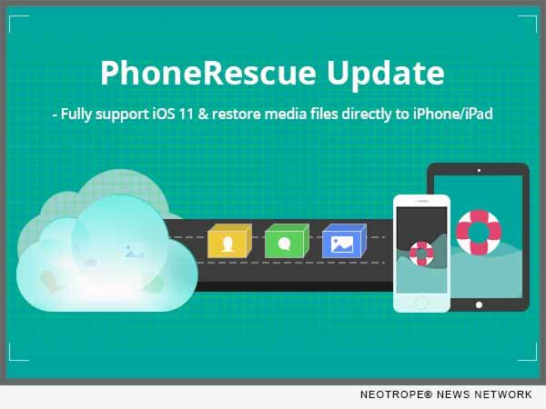 iMobie's New PhoneRescue Can Now Download and Restore iCloud Backups Even for Latest iOS 11:  LOS ANGELES, Calif. /California Newswire/ — iMobie Inc., a leading iOS and Android software developer, today announced its top-notch data recovery software PhoneRescue now is able to download and...