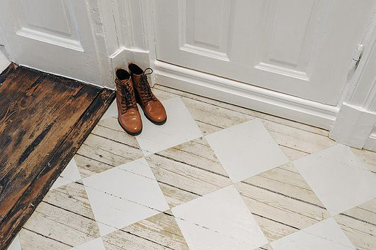 Hallway ideas: I want those shoes and that wood floor is really pleasing to me.